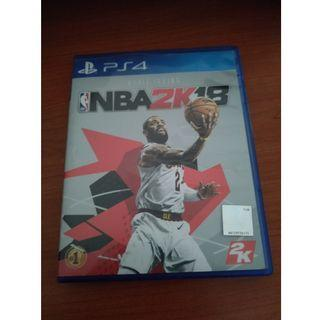 PS4 Game NBA 2K18