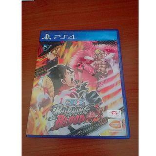 PS4 Game One Piece Burning Blood