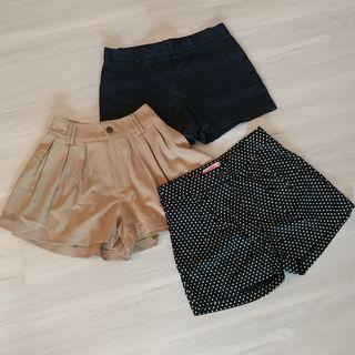 🚚 Set G - 3 Shorts for $18. Zara, Boga BKK, Supre