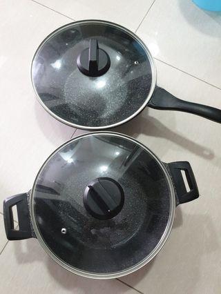 🚚 Frying Pan+ curry pan