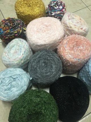 Imported yarns