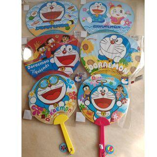 多啦A夢 Doraemon 紙扇 膠扇 多款