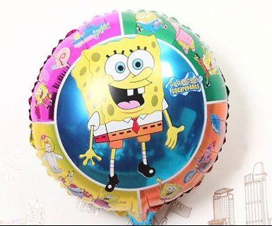 "18"" spongbob Squarepants Foil Balloon"