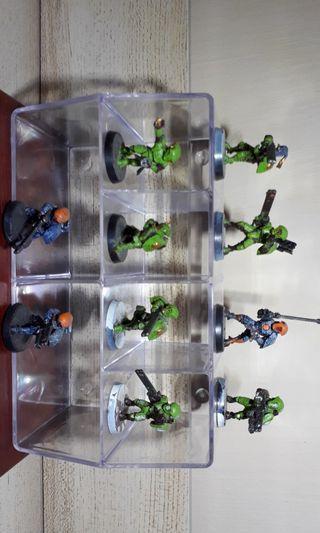 Warhammer 40k Tau infantry