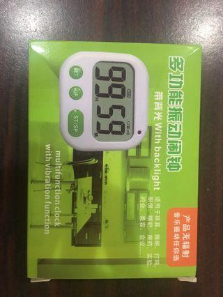 Multifunction clock with vibration function
