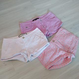 Set I - 3 Shorts for $18. Roxy, 2 x Abercrombie & Fitch