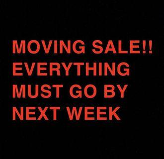 Everything negotiable! clothes bags etc!