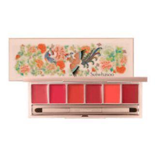 (限量版. 已斷貨) 雪花秀鳳凰唇盒彩妝系列  Sulwhasoo Luxury Lip Palette Phoenix Limited Collection