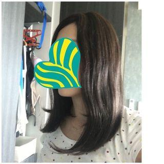 🚚 Real human wig ( non shiny very realistic)