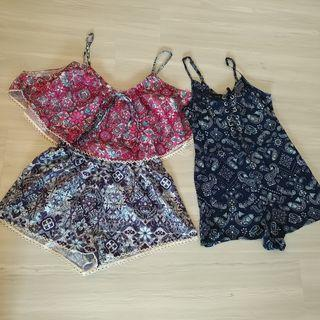 Set K - 2 Rompers for $30. Indikah, Jay Jays