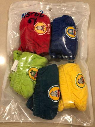 Set of 5 lightly used cotton underwear for sale (size S)