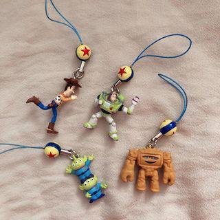 玩具總動員 絕版吊飾 皮克斯球 三眼怪