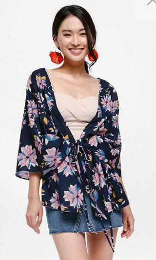 Hanayo Printed Kimono