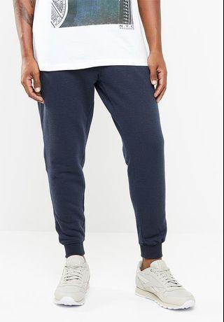 Cotton On Trippy Slim Trackie in Navy