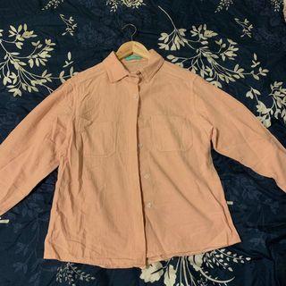 🚚 粉紅pink pink襯衫
