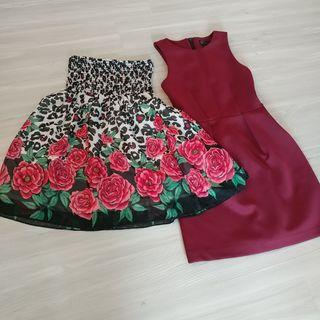 Set N - 2 Dresses for $40. Forever 21, Top Shop