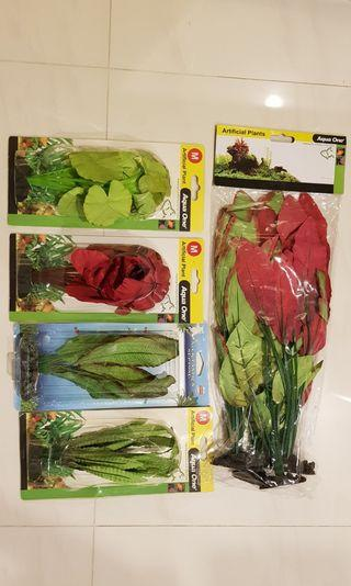Imported Realistic artificial plants for your planted tank aquarium