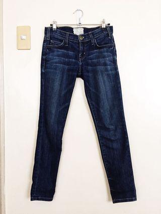 Current Elliot The Stiletto Dark Wash Denim Skinny Jeans