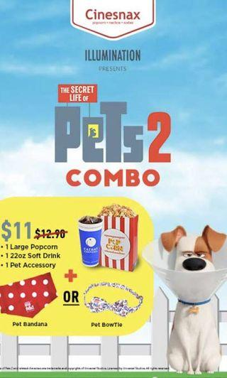 Secret Life Of Pets 2 Bandana