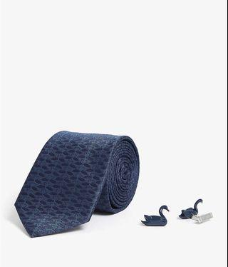 TED BAKER Swaning tie and cufflinks gift set