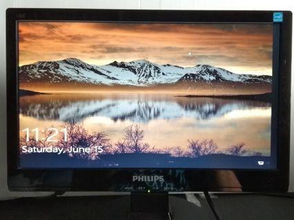 """Philips 15"""" LED Monitor MWE1160T"""