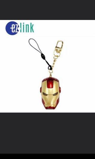 Marvel Iron Man Ezlink Charm