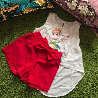 Fishtail Top and Shortpant