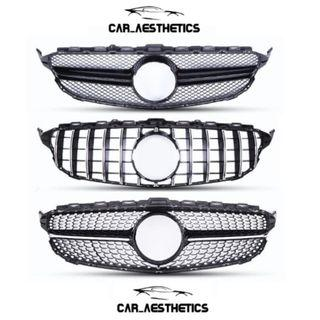 Mercedes Diamond / GTR / AMG Grill for all Models (Fitted)
