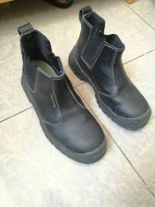 鋼頭保護 真皮勞工鞋/靴
