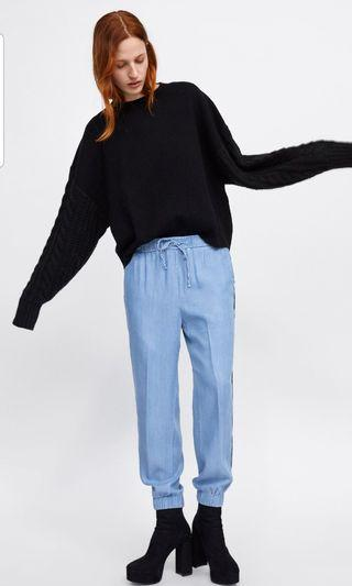 Brand new with tag zara joggers pants