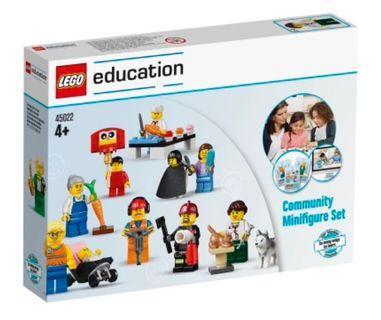 LEGO Education Community Minifigure Set for Role Play (45022) (全新,靚盒,未開封)