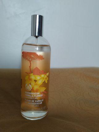The Body Shop Body Mist madagascan vanilla flower