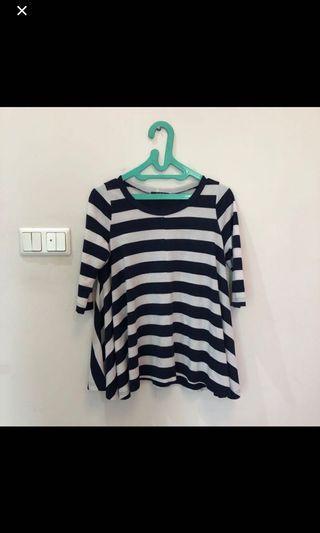 Baju Wide Stripes