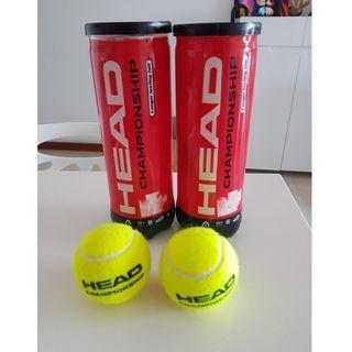 Head Champion Tennis Balls - 2 cans
