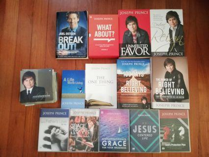 Joseph Prince Books, CDs and DVDs
