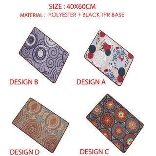 European Style Floor Mat 40x60cm
