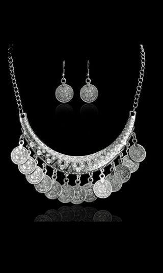 Vintage coin Jewelry Set #MGAG101