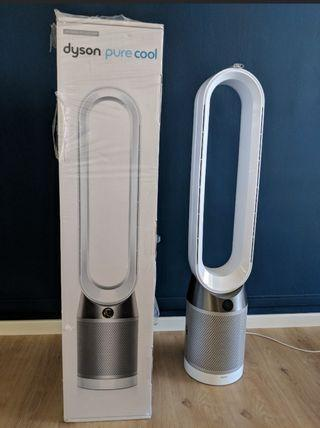 🚚 DYSON TP04 WHITE STANDING PURIFYING FAN (Good as new)