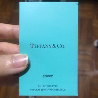 Tiffany & Co. 香水 sample 試用裝 旅行裝