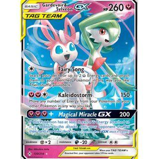 Dedenne GX and other pokemon card Unbroken Bond TCG
