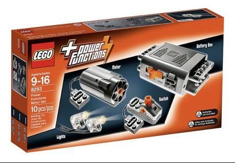 Lego Technic Power Function Motor Set (8293) (全新,未開封)