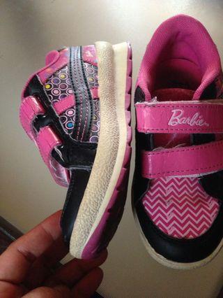 Barbie shoes kids 3,4 old