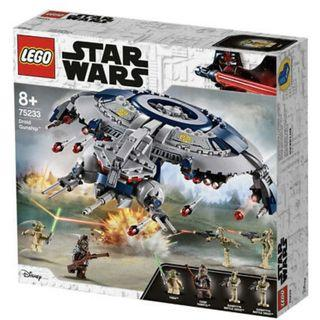 Lego Star Wars The Revenge of The Sith Droid Gunship (75233) (全新,未開封,Y2019)
