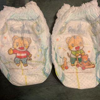(PL) bought in Japan Pampers Pants 37 pcs Shimajoro (qiaohu) design