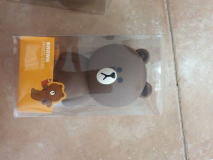 🚚 Brown Pencil Case