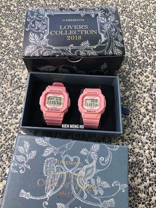 💕💕💕💯% Original Casio G-Shock couple set LOV-18B-4DR , pink couple set , G-SHOCK coupe set , LOV18B4DR , Casio , G-SHOCK
