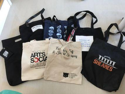 Assorted Totebags