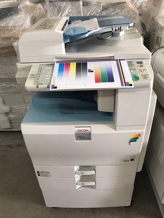 出口价格理光良好彩色复印机 Export Price Ricoh Color Copier in Good Working Conditioned
