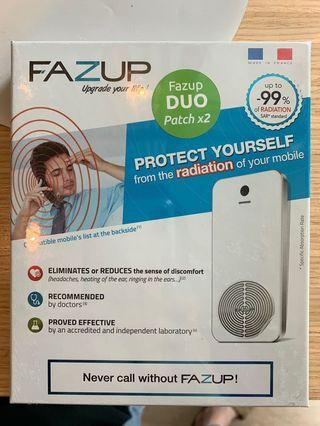 Fazup Silver - Radiation Protector for cell phones