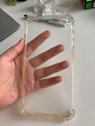 iphone 6s+ strong clear phone case